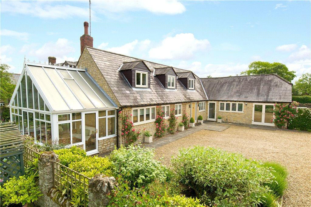 5 Bedrooms Barn Conversion Character Property for sale in Church Lane, Lathbury, Buckinghamshire