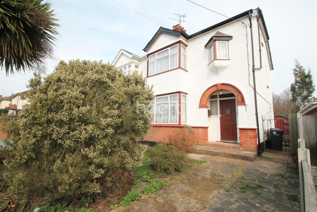 3 Bedrooms Semi Detached House for sale in Daws Heath Road, Rayleigh