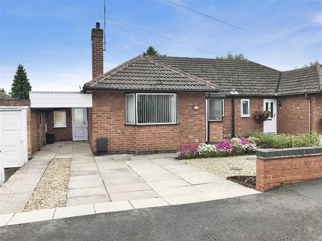 2 Bedrooms Semi Detached Bungalow for sale in Ledbrook Road, Cubbington, CV32