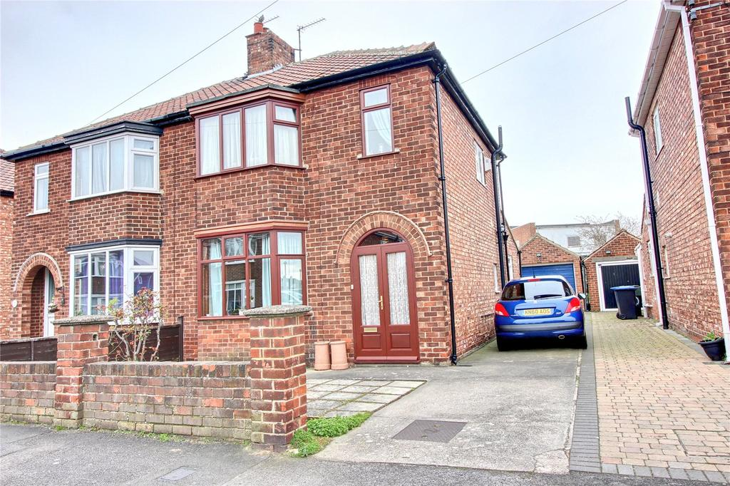 3 Bedrooms Semi Detached House for sale in Ridley Avenue, Linthorpe