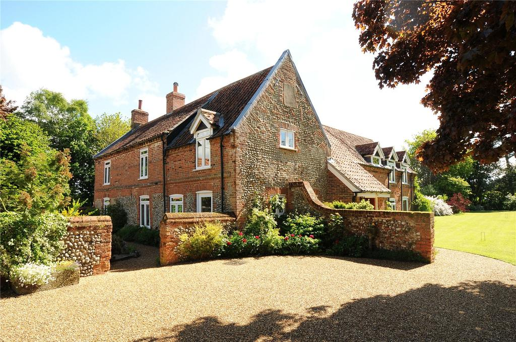 6 Bedrooms Detached House for sale in Church Lane, Edgefield, Melton Constable, Norfolk