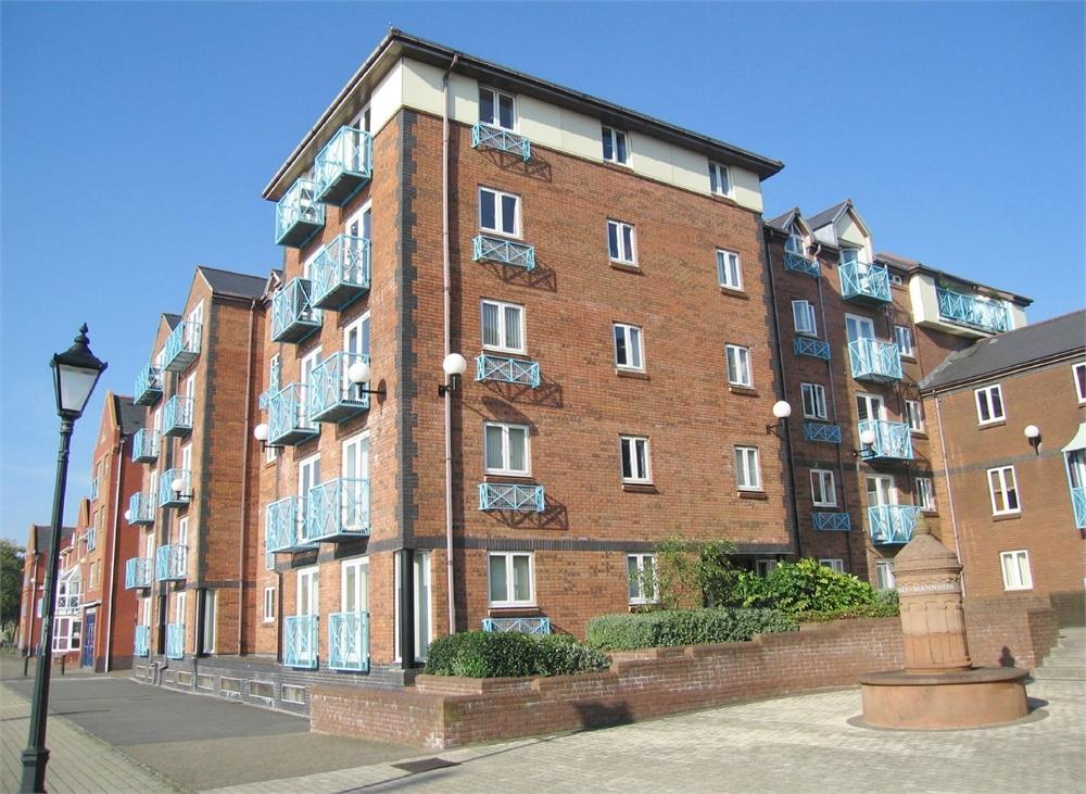 1 Bedroom Flat for sale in Weavers House, Maritime Quarter, SWANSEA