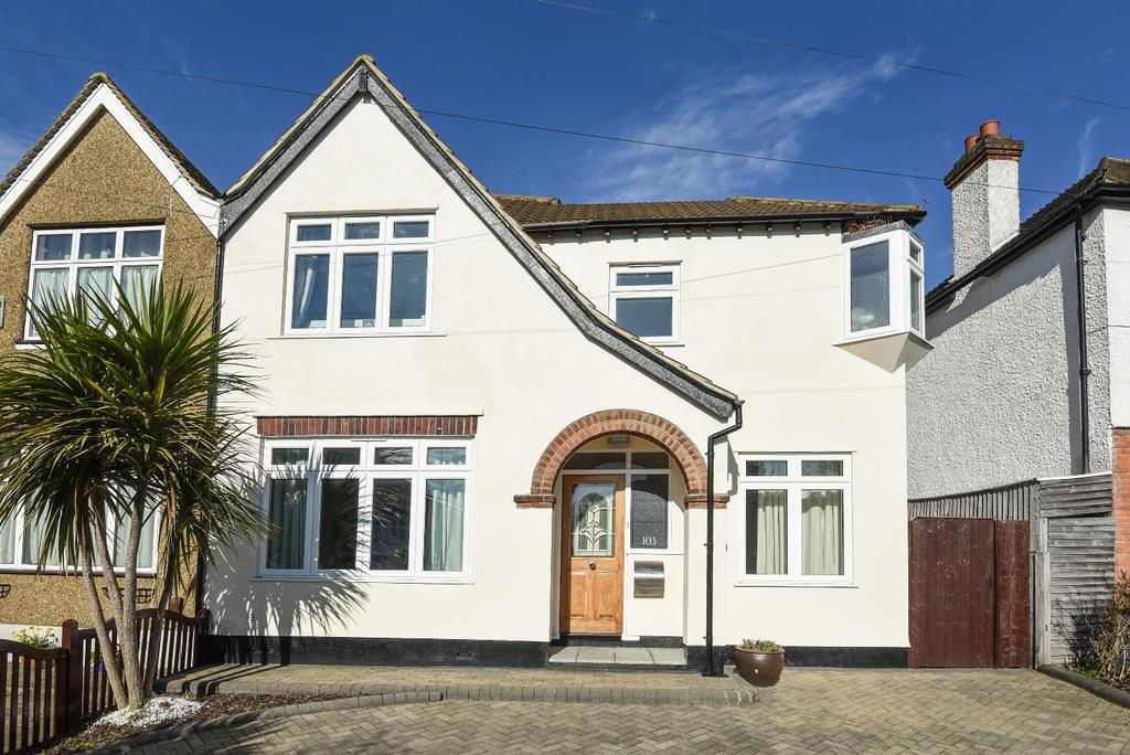 4 Bedrooms Semi Detached House for sale in Eden Park Avenue Beckenham BR3