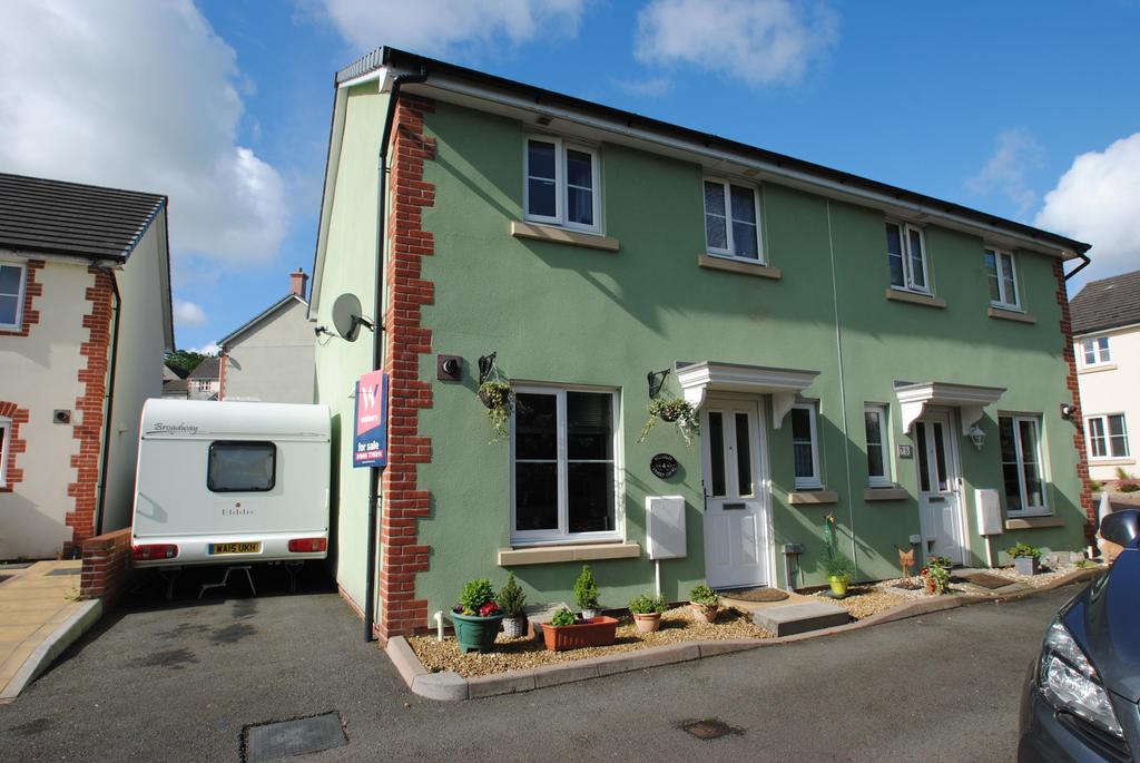 3 Bedrooms Semi Detached House for sale in Kensey Court, Launceston
