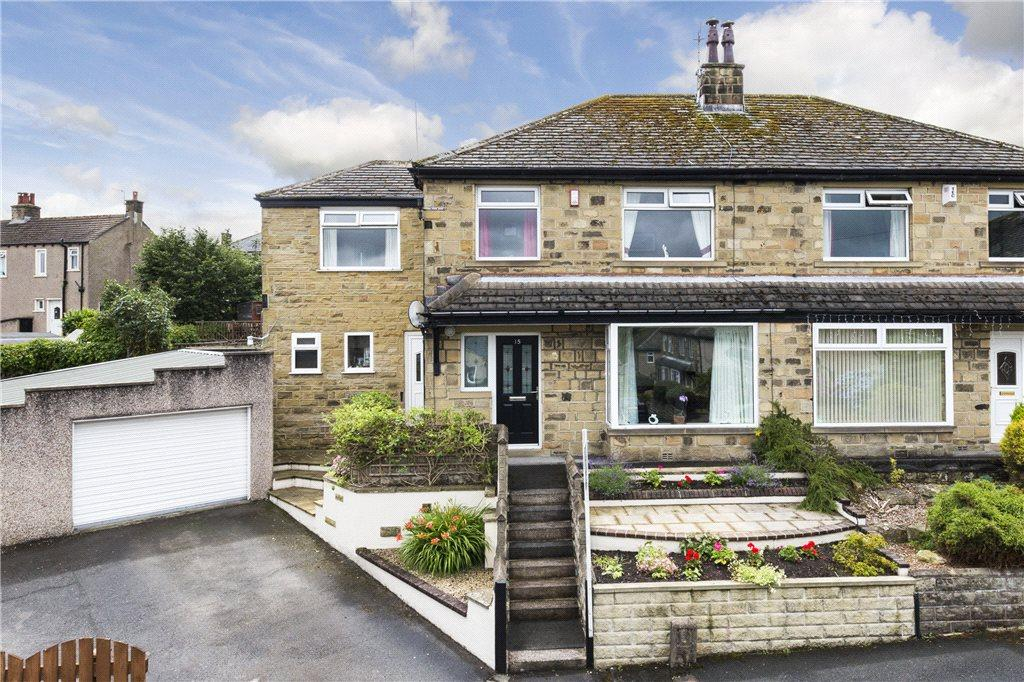 4 Bedrooms Semi Detached House for sale in Westburn Grove, Keighley, West Yorkshire