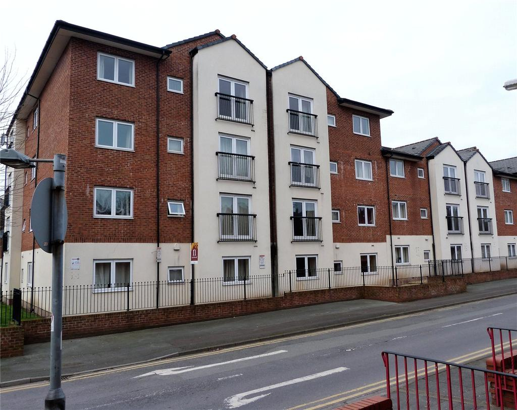 2 Bedrooms Apartment Flat for sale in Delamere Court, St Marys Street, Crewe, Cheshire, CW1