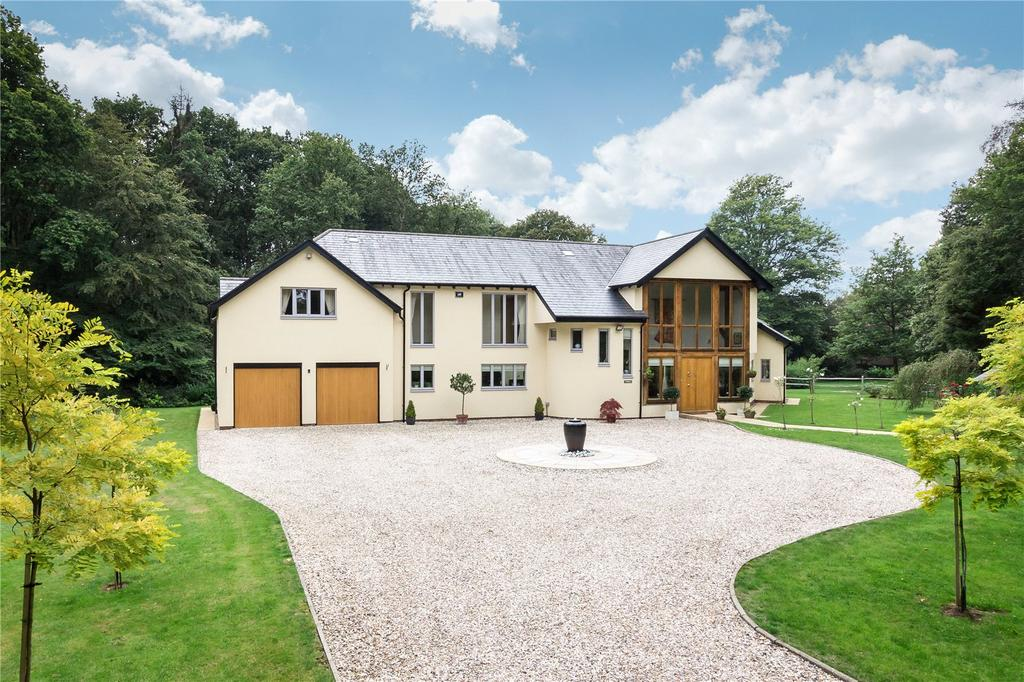 4 Bedrooms Detached House for sale in Durfold Wood, Plaistow, Billingshurst, West Sussex