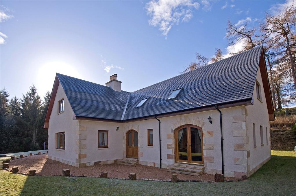 4 Bedrooms Detached House for sale in Moss-Side, Tomnavoulin, Ballindalloch, Aberdeenshire