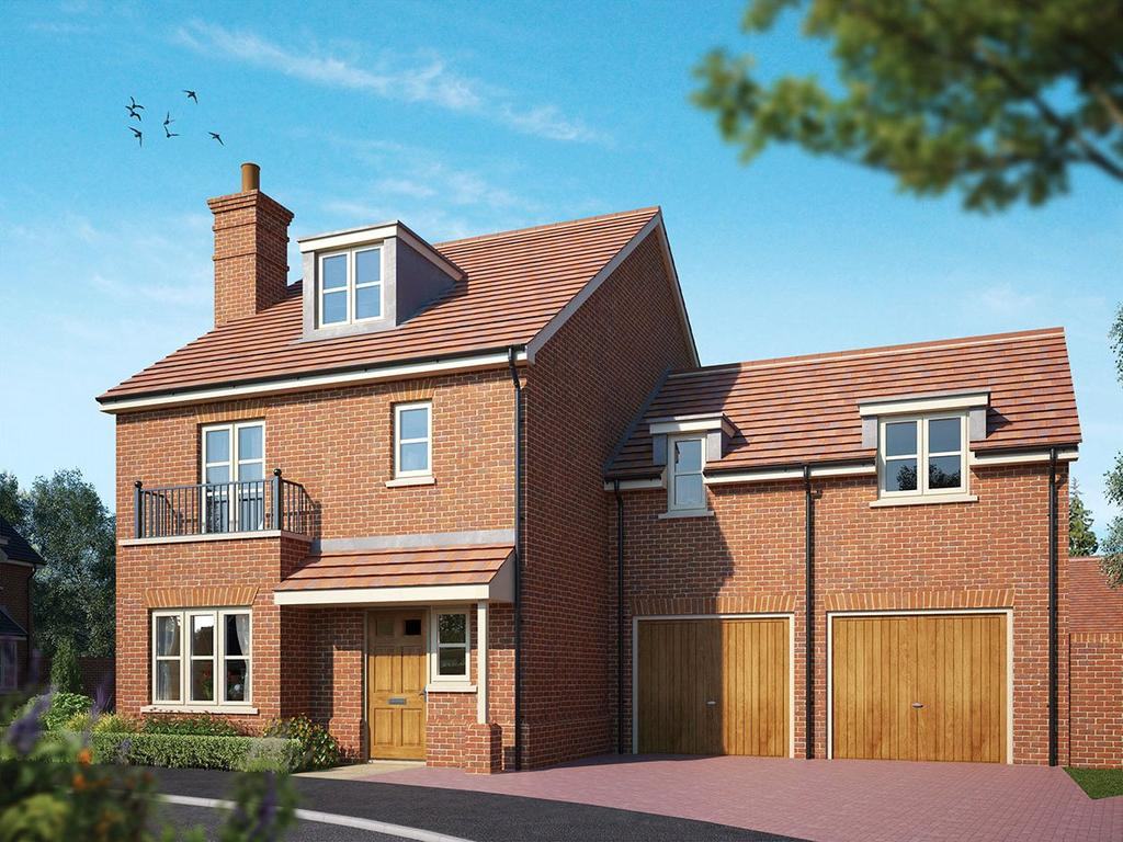 4 Bedrooms Detached House for sale in Hartley Row Park, Hartley Wintney, Hook, Hampshire