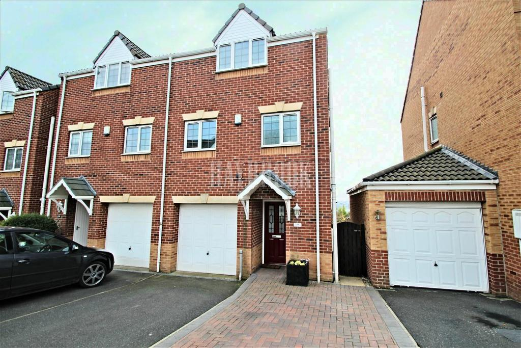 3 Bedrooms Semi Detached House for sale in West View Road, Mexborough