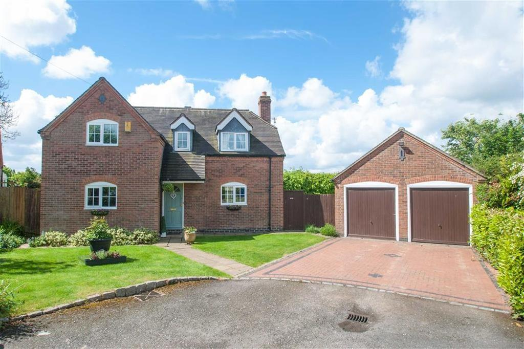 4 Bedrooms Detached House for sale in Manor Close, Harlaston, Staffordshire