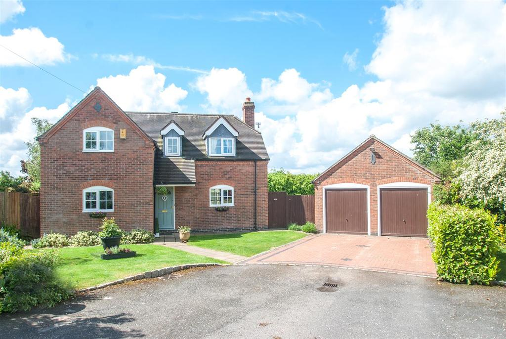 4 Bedrooms Detached House for sale in Manor Close, Harlaston