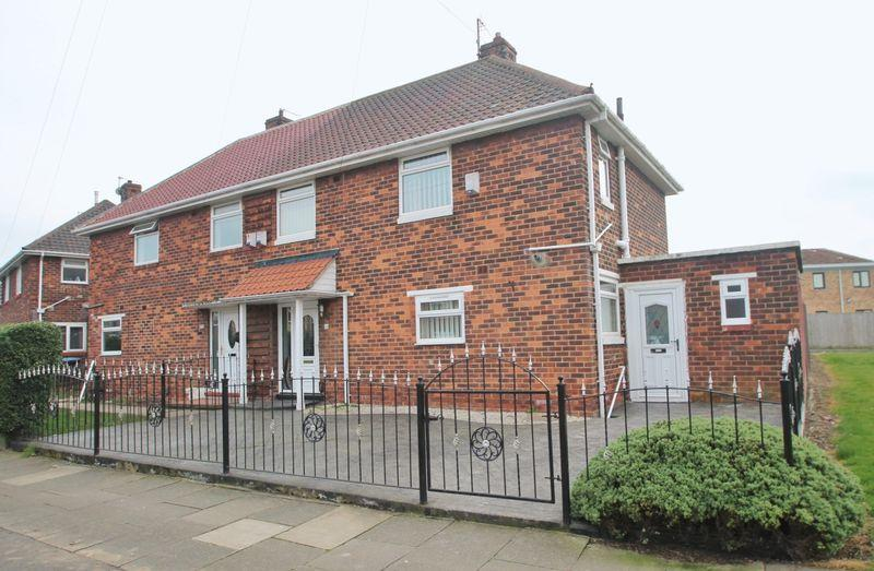 3 Bedrooms Semi Detached House for sale in Rainsford Crescent, Middlesbrough