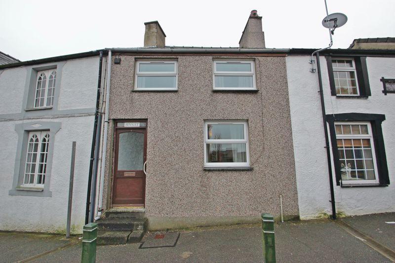 2 Bedrooms Terraced House for sale in Llanllyfni, Gwynedd