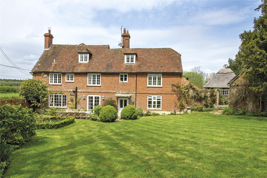 7 Bedrooms Detached House for sale in Manor Farm House, Lasham, Alton, Hampshire