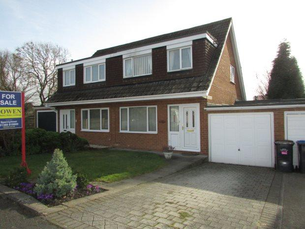 3 Bedrooms Semi Detached House for sale in MIDDLEHAM WALK, SPENNYMOOR, SPENNYMOOR DISTRICT
