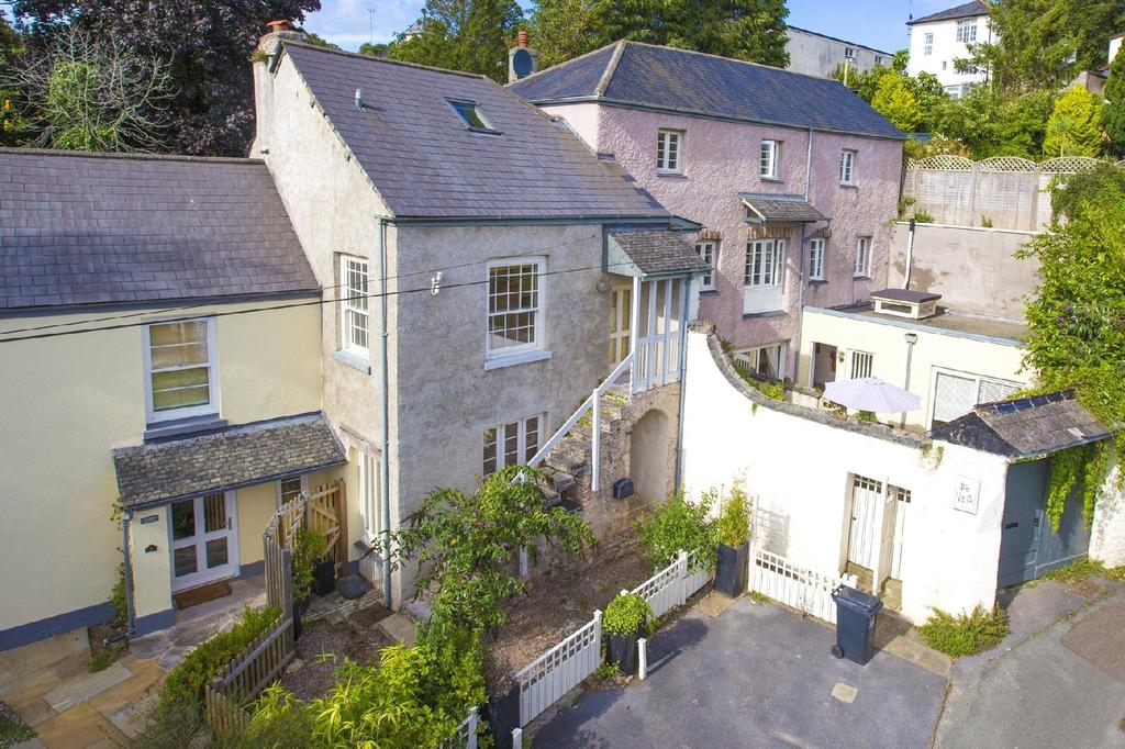 4 Bedrooms Terraced House for sale in Coombe Shute, Stoke Gabriel, Totnes, Devon, TQ9