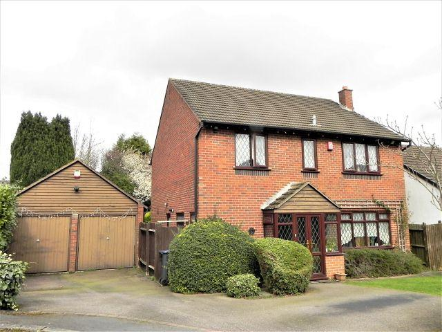 4 Bedrooms Detached House for sale in Hallcroft Close,Wylde Green,Sutton Coldfield
