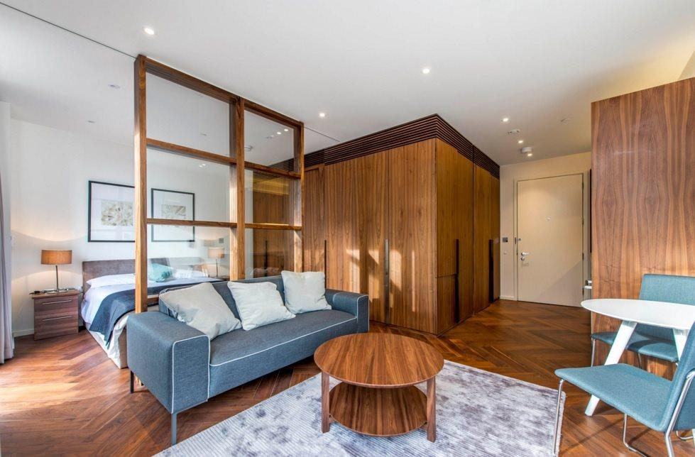 Studio Flat for sale in Capital Building, Embassy Gardens,