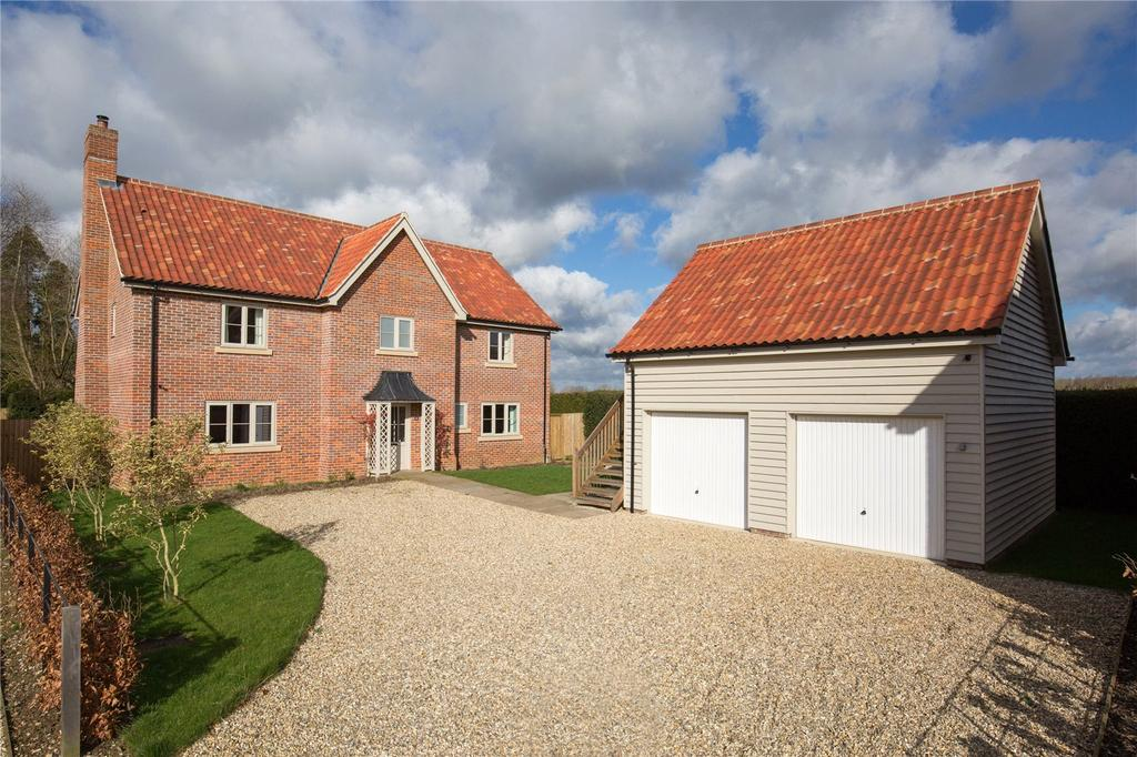 4 Bedrooms Detached House for sale in Bay Field, East Tuddenham, Dereham, Norfolk, NR20