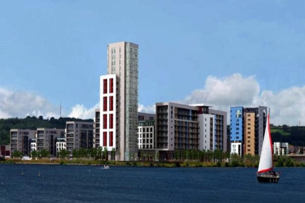 2 Bedrooms Apartment Flat for sale in Douglas House, Ferry Court, Cardiff Bay