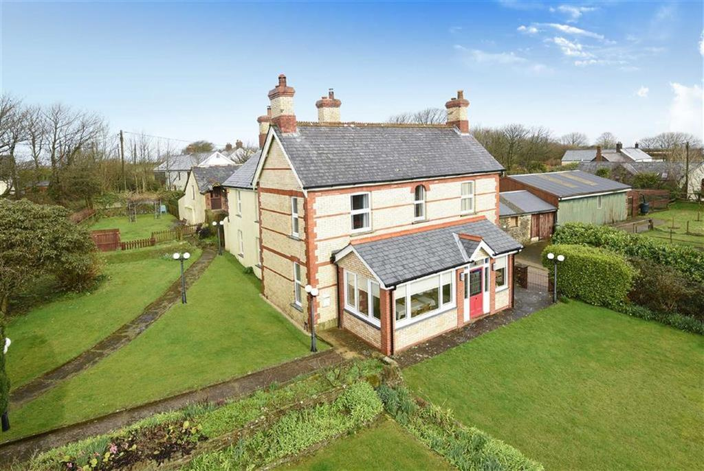 5 Bedrooms Detached House for sale in Cranford House And The Old Coach House, Cranford, Woolsery, Devon, EX39