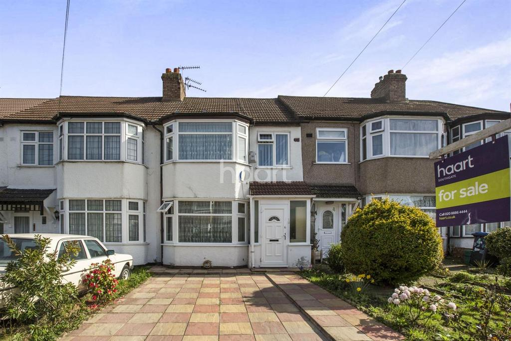 3 Bedrooms Terraced House for sale in Briar Close, Palmers Green, N13
