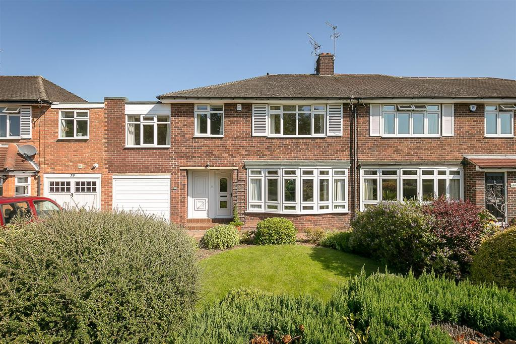 5 Bedrooms Semi Detached House for sale in Kingsley Avenue, Gosforth, Newcastle upon Tyne