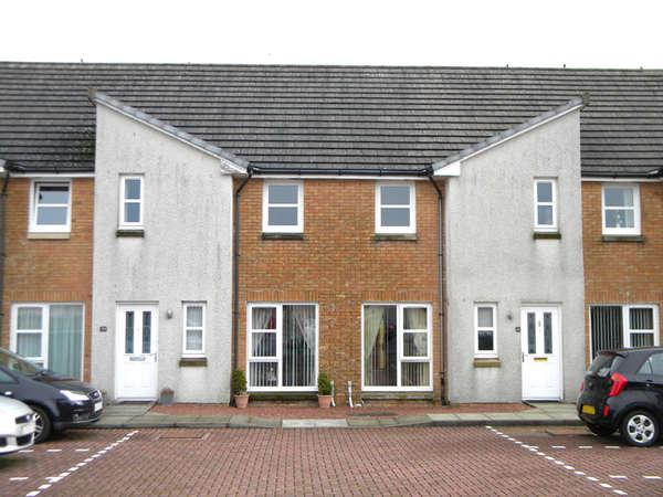 2 Bedrooms Terraced House for sale in 41 Millbarr Grove, Barrmill, Beith, KA15 1GA