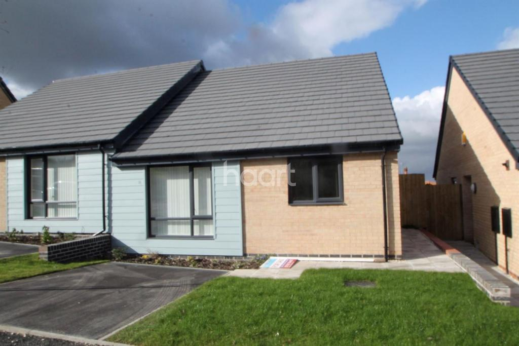 2 Bedrooms Bungalow for sale in Rocksand Drive, Edlington