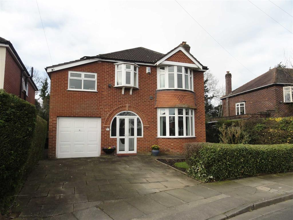 4 Bedrooms Detached House for sale in Meadows Road, Heald Green