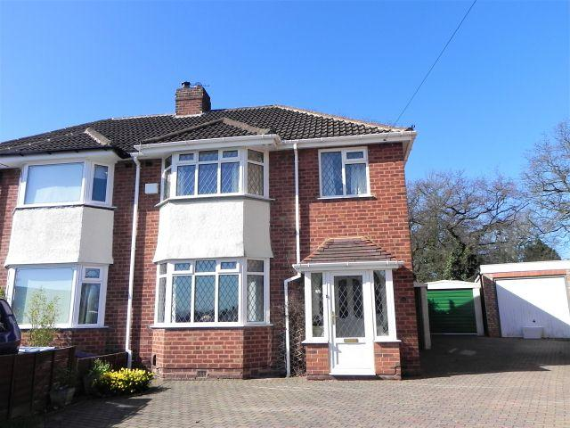 3 Bedrooms Semi Detached House for sale in Springfield Crescent,Walmley,Sutton Coldfield