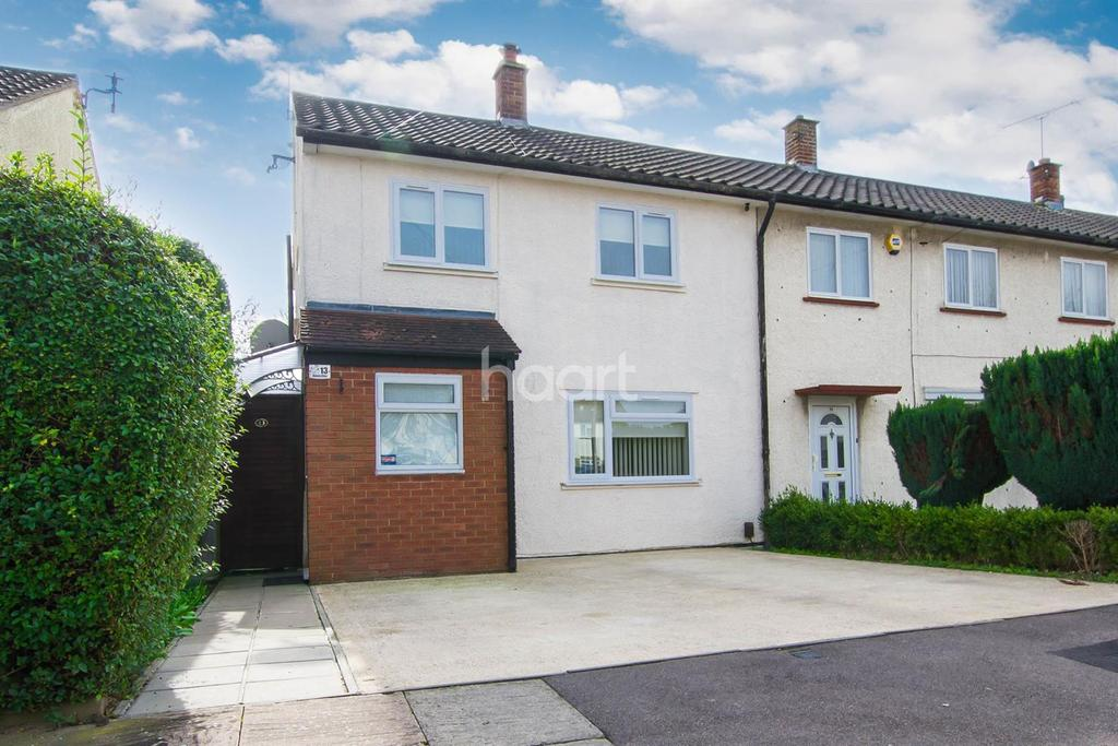 2 Bedrooms End Of Terrace House for sale in Lewsey Farm