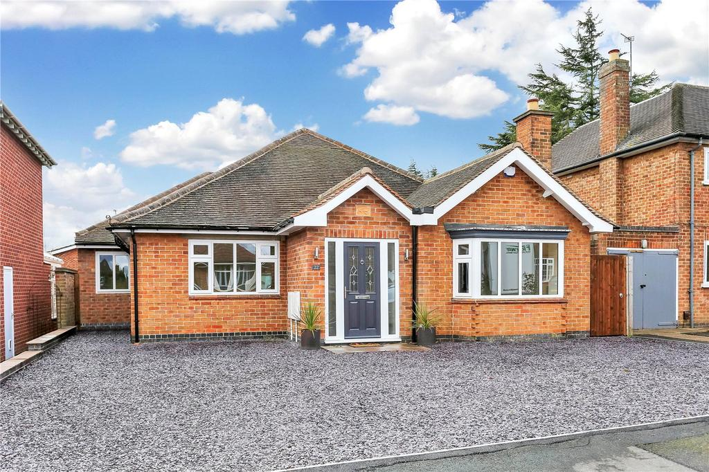 3 Bedrooms Detached Bungalow for sale in Shepherds Close, Loughborough, Leicestershire