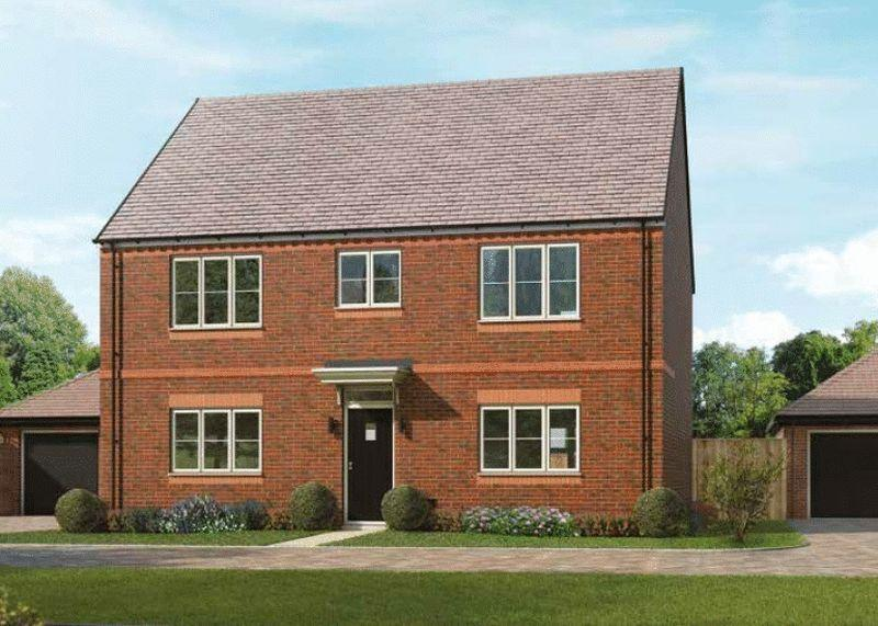 4 Bedrooms Detached House for sale in Plot 42, The Lenham, Oakwood Gate, Bampton