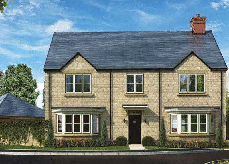 5 Bedrooms Detached House for sale in Plot 57, The Haddenham, Oakwood Gate, Bampton