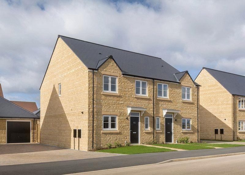 3 Bedrooms Semi Detached House for sale in Plot 54, The Alvescot, Oakwood Gate, Bampton