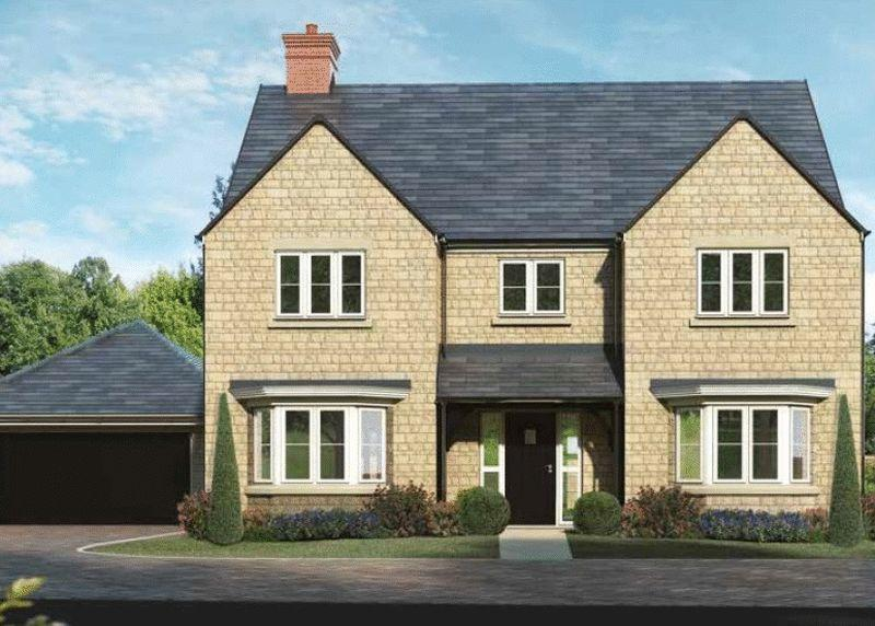 5 Bedrooms Detached House for sale in Plot 63, The Bodicote, Oakwood Gate, Bampton