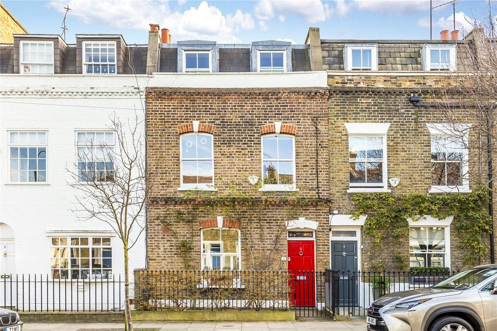 4 Bedrooms Terraced House for sale in Furber Street, Brackenbury Village, London, W6