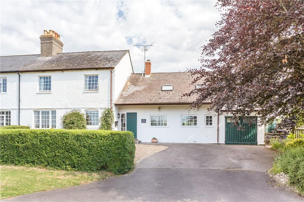 4 Bedrooms Semi Detached House for sale in The White House, Smithy Lane,, Woodborough, Pewsey, Wiltshire, SN9