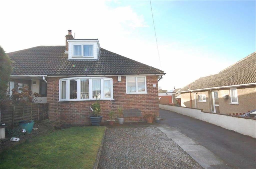 2 Bedrooms Semi Detached Bungalow for sale in Lawrence Crescent, Heckmondwike, WF16
