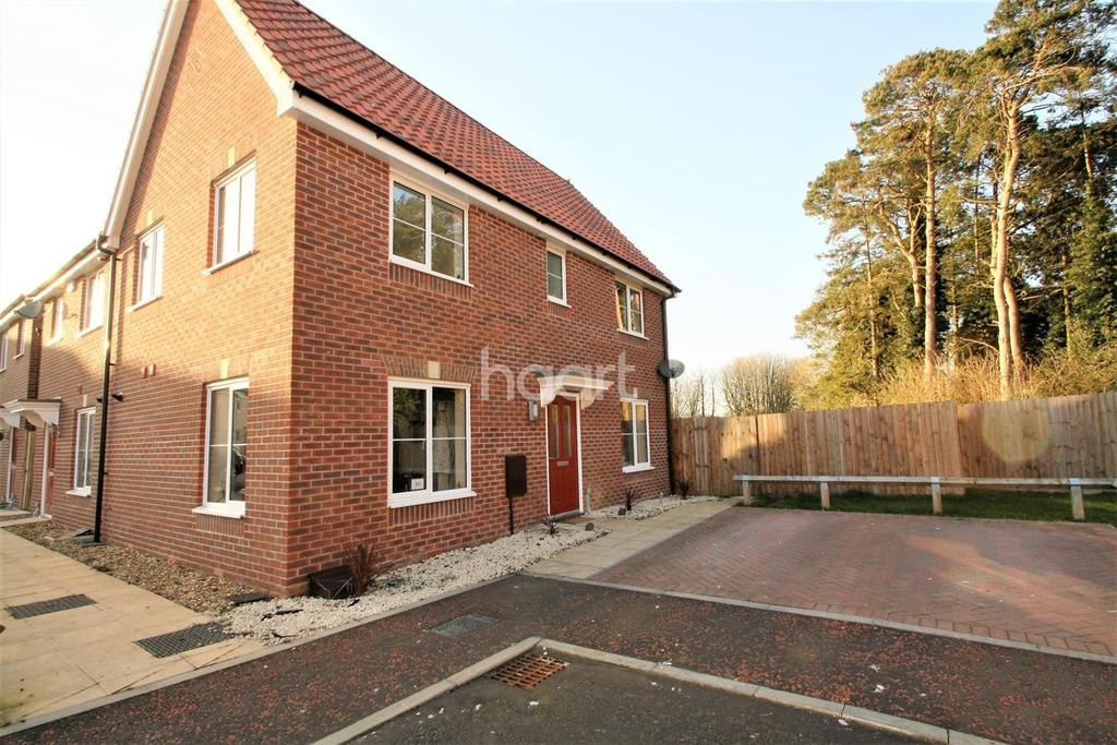 3 Bedrooms Semi Detached House for sale in Spitfire Drive, Carbrooke