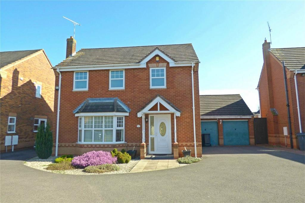 4 Bedrooms Detached House for sale in Sterling Way, Maple Park, Nuneaton, Warwickshire