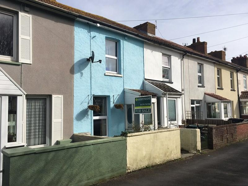 2 Bedrooms Terraced House for sale in Clyce Road, Highbridge