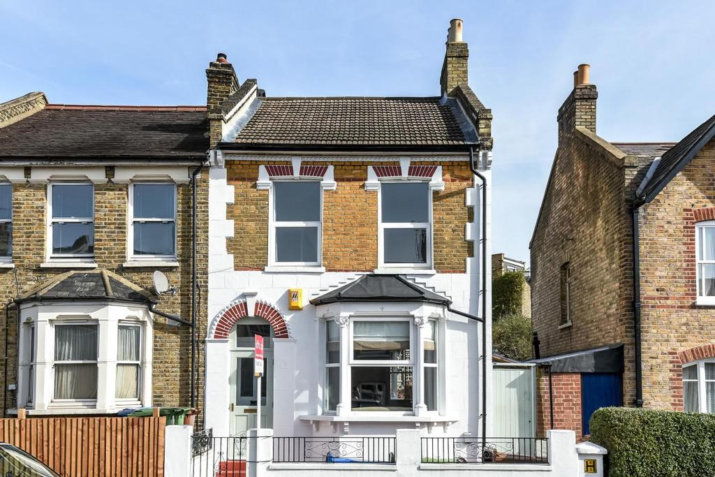3 Bedrooms End Of Terrace House for sale in Cheltenham Road, Nunhead