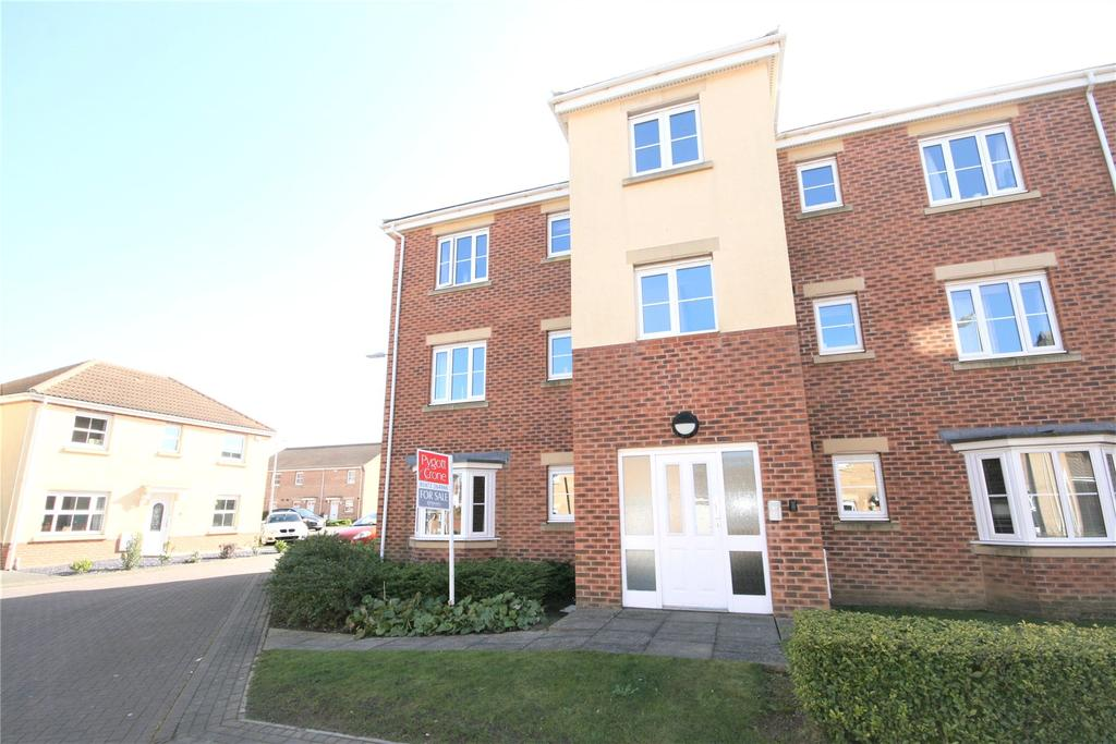 2 Bedrooms Flat for sale in Pennistone Place, Scartho Top, DN33