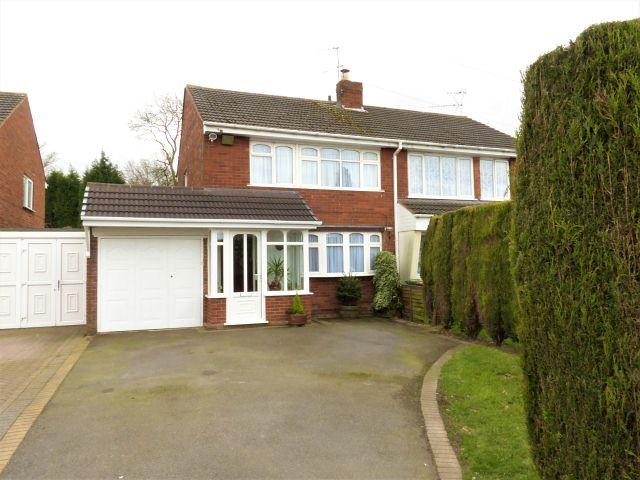 3 Bedrooms Semi Detached House for sale in Edinburgh Drive,Rushall,Walsall