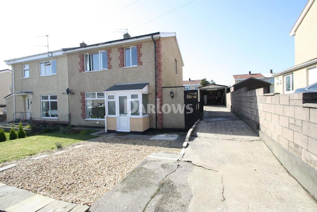 3 Bedrooms Semi Detached House for sale in Gwyn Crescent, Varteg