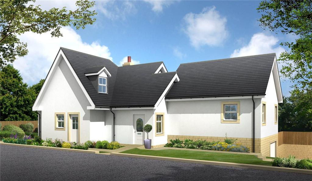 4 Bedrooms Detached House for sale in Abbotslea, Monkswood, Gattonside, Melrose, Scottish Borders