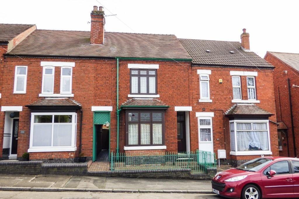 2 Bedrooms Terraced House for sale in Calais Road, Burton-on-Trent